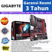 GIGABYTE MAINBOARD B450M B 450M GAMING AM4 DDR4