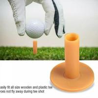 Aksesoris Peratalan. 3 pc Karet Rubber Tees Tee Swing Latihan Golf