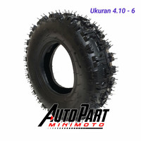 Ban ATV Offroad 4.10-6 ATV 50cc Ring 6 Inch ( Depan ) 1Pcs
