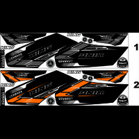 STRIPING MOTOR RX KING STIKER MOTIF Yamaha NGO RX KING VARIASI
