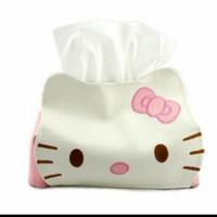 Tempat Tissue hello kitty lucu