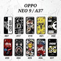OPPO NEO 9 / OPPO A37  Soft Hard Case MAN GLOSS Casing BAPE Supreme
