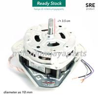 Dinamo Spin Sharp / Motor Pengering Mesin Cuci SHARP diameter as 10 mm