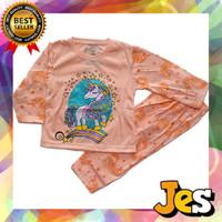 Setelan Panjang Baju / Kaos Anak Perempuan UNICORN 1 - 10 Tahun