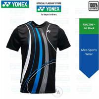 T-Shirt / Jersey Yonex Tru Air 1796 COC Jet Black