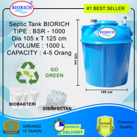 Septic Tank Bio BSR 1000 -Biofil Septi Tank Biotech Septictank Biotek