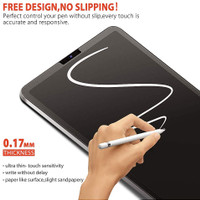 anti gores Paperlike Screen Protector iPad 6 7 8 Air 2 3 4 Pro 11 12.9