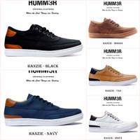Sepatu Sneakers Putih Pria Ukuran Besar Size 44-50 Hummer Hanzie Skate