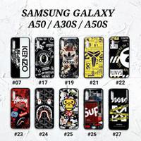 SAMSUNG GALAXY A50 A30S A50S  Soft Hard Case MAN GLOSS Casing BAPE