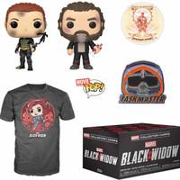 Funko POP! Marvel Collector Corps Box: Black Widow (T-Shirt Size M)