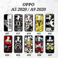 OPPO A5 2020 / OPPO A9 2020  Soft Hard Case MAN GLOSS Casing BAPE