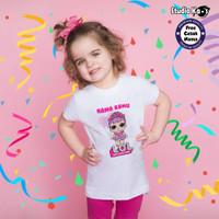 Baju Kaos Anak LOL Studio Kaos bisa cetak nama