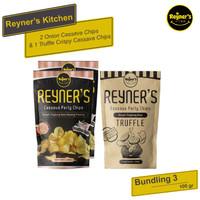 Bundling 3!! Reyner's Kitchen 1pcs Truffle + 2pcs Party Cassava Chips