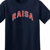 T-shirt kaos pria kaos RAISA bagus warna stok ada size S M L XL