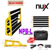 nux npb l pedalboard efek gitar nux npbl