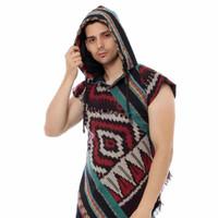 Hoodie Tenun - Toraja Short Sleeve Hoodie - UNISEX HT06