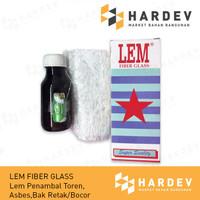 Lem Fiber Glass Fiberglass RESIN Lem Plastik Bak Mandi Ember