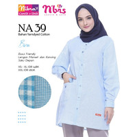 ATASAN NIBRAS NA 039 / Baju Blouse Atasan Muslim Wanita Dewasa Terbaru