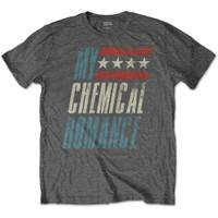 MY CHEMICAL ROMANCE Raceway Grey Kaos Band Gothic Rock Punk Original - M