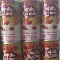 susu steril rasa kurma  tujuh kurma  200ml kartonan mirip bear brand