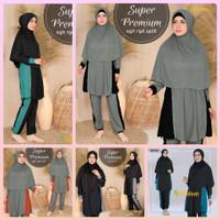 Baju Renang Muslimah Super Premium by Aghnisan Collection Ukuran XXL