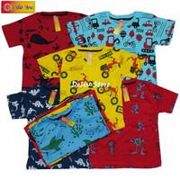 Baju Kaos Anak Full Printing / Unisex / Grosir Lusinan / 1-7tahunan