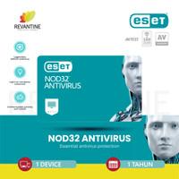 ESET NOD32 Antivirus - 1 PC 1 Tahun