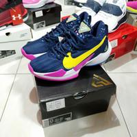 Sepatu Basket Nike Zoom Freak 2 Low Midnight Navy