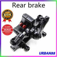 Kaliper Rem Belakang Sepeda Cakram BOLIDS F180 R160 - BB8
