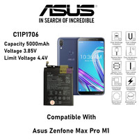 (P) Batre Baterai Battery Original Asus Zenfone Max Pro M1 C11P1706