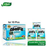 Susu Kambing Etawa plus royal jelly Goatfit Milk 10 SACHET / Goat Fit