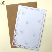 Kartu Ucapan Kosong Unik A6 10x15 Feminine Multipurpose Card Kado