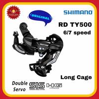 SHIMANO RD-TY500-SGS Rear Derailleur RD Tourney 6/7 Speed