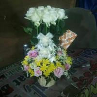 Bunga meja bunga hias bunga asli