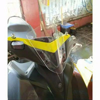 Visor windshield yamaha aerox sectbill Visor aerox Aksesoris aerox - clear