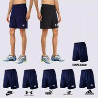 Celana Olahraga Pria Wanita Bahan Dry Fit Saku Dua All Size