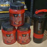 BSN NO XPLODE EXPLODE 30 SERVING PRE WORKOUT PREWORKOUT BPOM !!!
