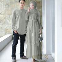 baju couple finda abu baju pasangan gamis sepasang baju kondangan