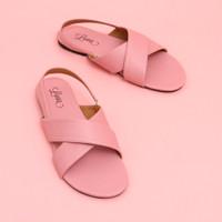 Lova.id - KHANSA - Sandal Flat Wanita