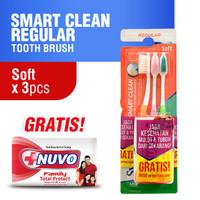 Systema Sikat Gigi Smart Clean Soft x 3 Pcs