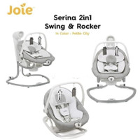 Joie Serina 2 in 1 Swing & Rocker Baby Bouncer / ayunan otomatis