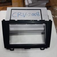 Frame Double Din Panel Honda All New CRV 2008 - 2011 Head Unit