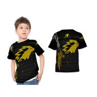 2S5 - Baju Kaos Tshirt Anak Gaming Onic Esport PUBG FF ML 03 Custom - - S