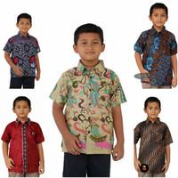Batik Anak Murah Baju Kemeja Batik Anak Cowok Laki-Laki