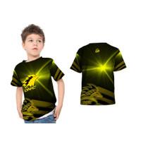 2S5 - Baju Kaos Tshirt Anak Gaming Onic Esport PUBG FF ML Custom - S - S