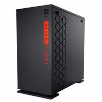 InWin 301 Black Tempered Glass - Casing gaming (Casing Komputer)