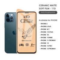 TEMPERED GLASS NANO CERAMIC IPHONE 6 7 8 PLUS XR FILM ANTI GORES GAMER