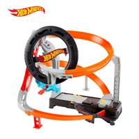 Hot Wheels City Hyper Boost Tire Shop Playset - Mainan Trek Mobil