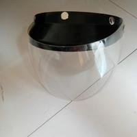 face shield helm bahan polycarbonate bisa naik turun