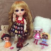 Doll Dress Owl Black Red BJD Lati dize 1/6 | Baju Boneka Lati
